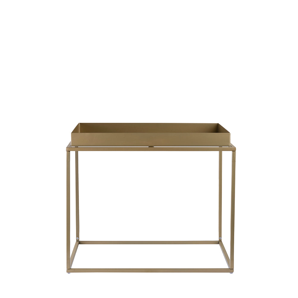 Valise Brooklyn Rectangular Coffee Table in Olive Gold
