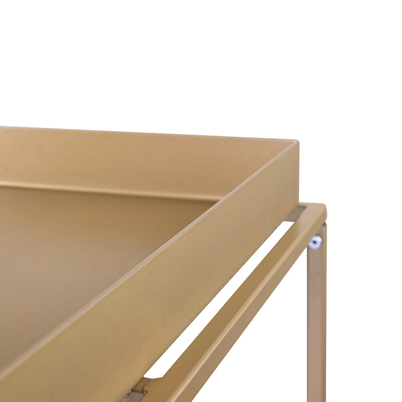 Valise Brooklyn Coffee Table in Olive Gold