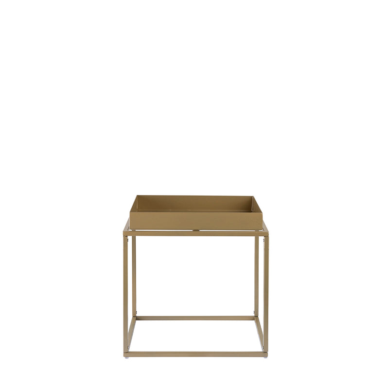 Valise Brooklyn Side Table in Olive Gold