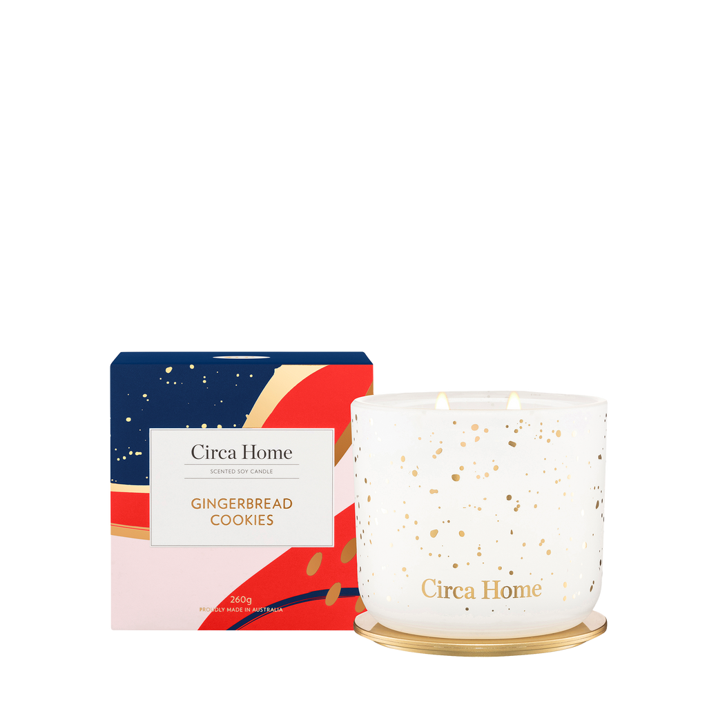 Circa Home Classic 260g Candle Gingerbread Cookies