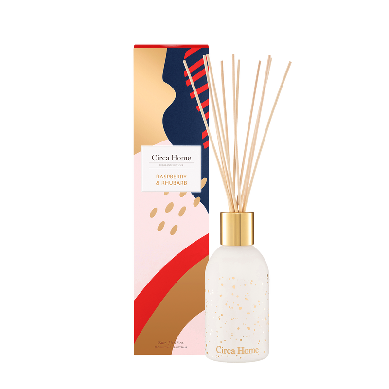 Circa Home Classic 250ml Fragrance Diffuser Raspberry & Rhubarb