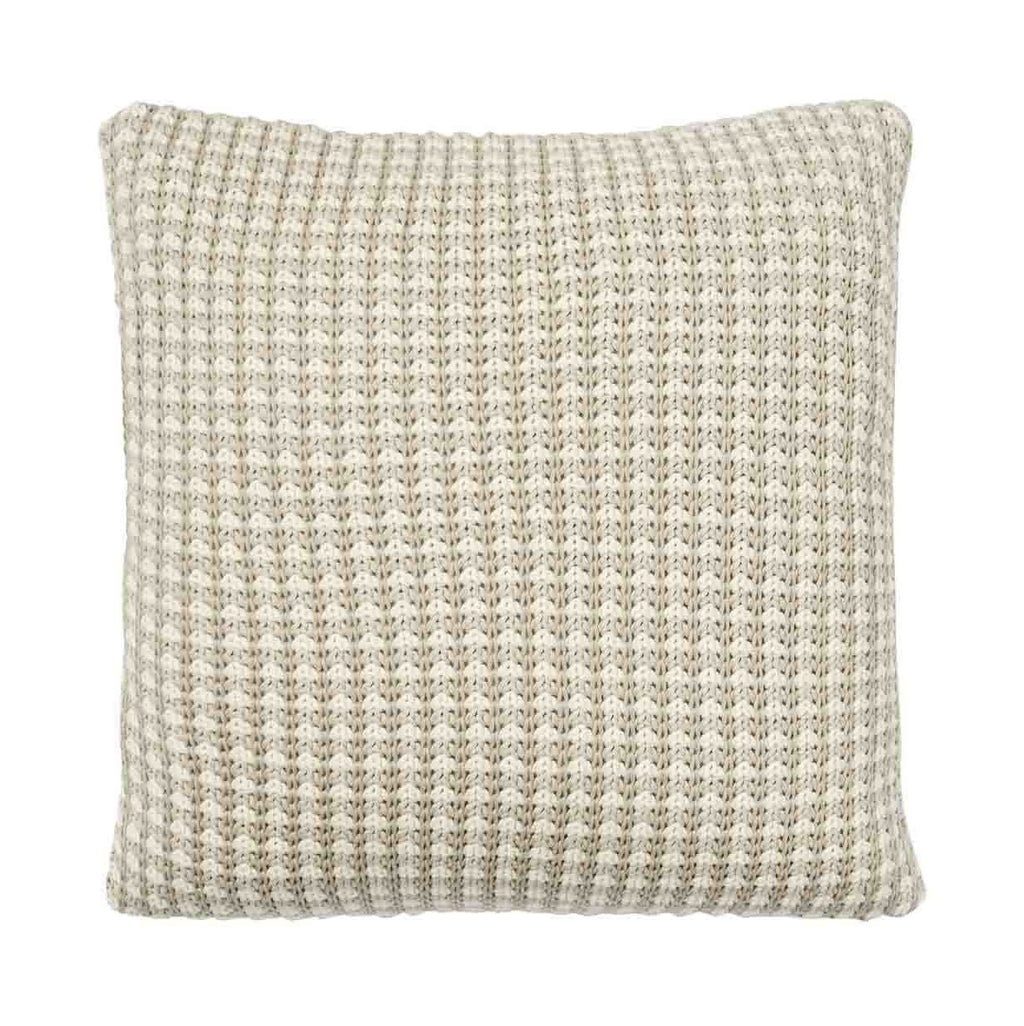 Weave Sausalito Knitted Cushion Sandstorm