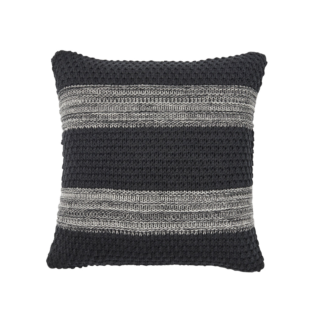 Weave Devonport Knitted Cushion Tar
