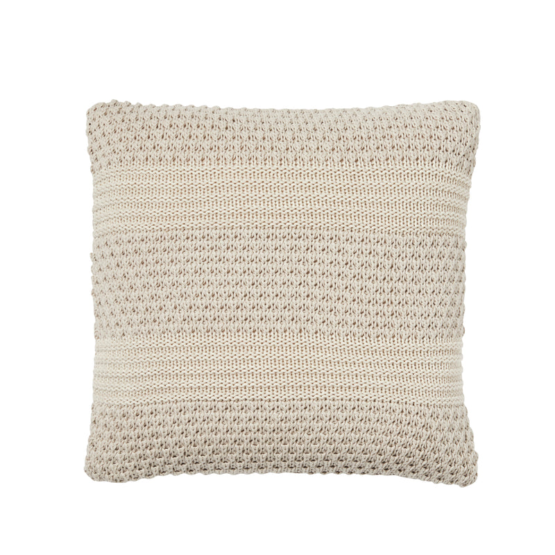 Weave Devonport Knitted Cushion Sandstorm