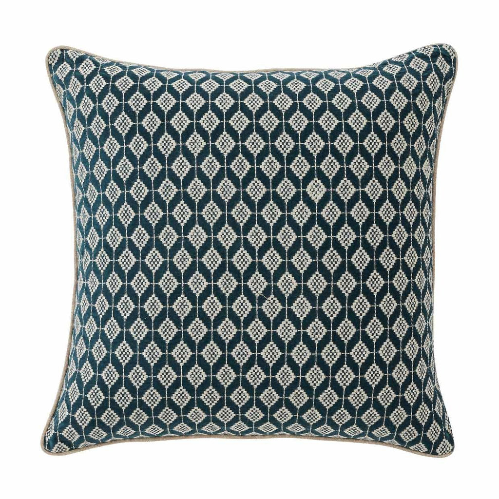 Weave Embla Cushion Teal