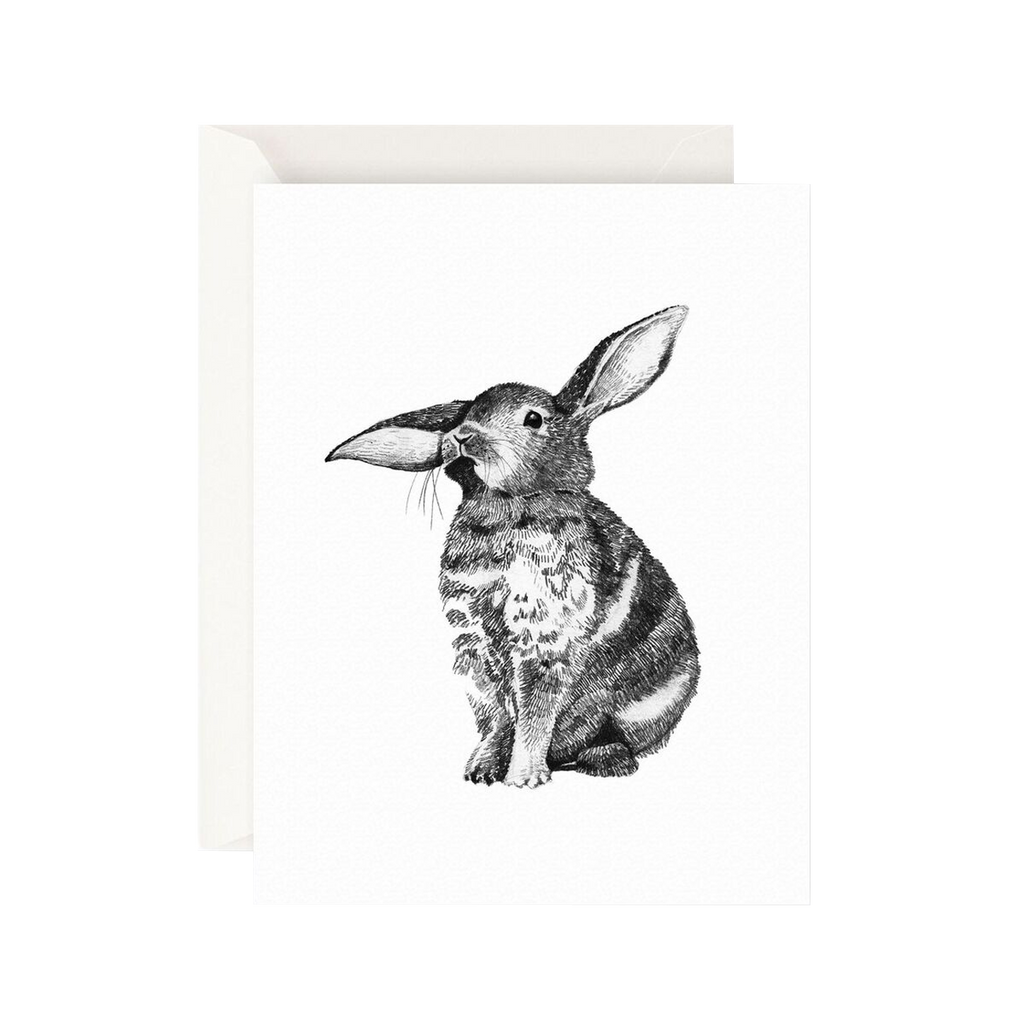 Father Rabbit Stationery Card Bunny