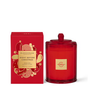 Glasshouse Fragrances 380g Night Before Christmas Candle