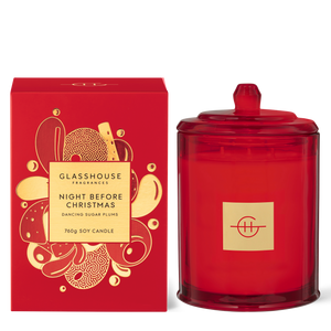 Glasshouse Fragrances 760g Night Before Christmas Candle