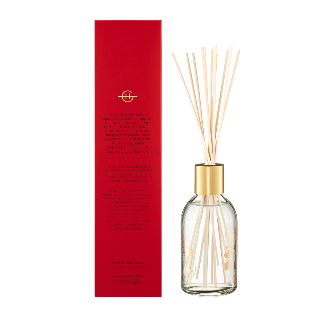 Glasshouse Fragrances 250ml Night Before Christmas Diffuser