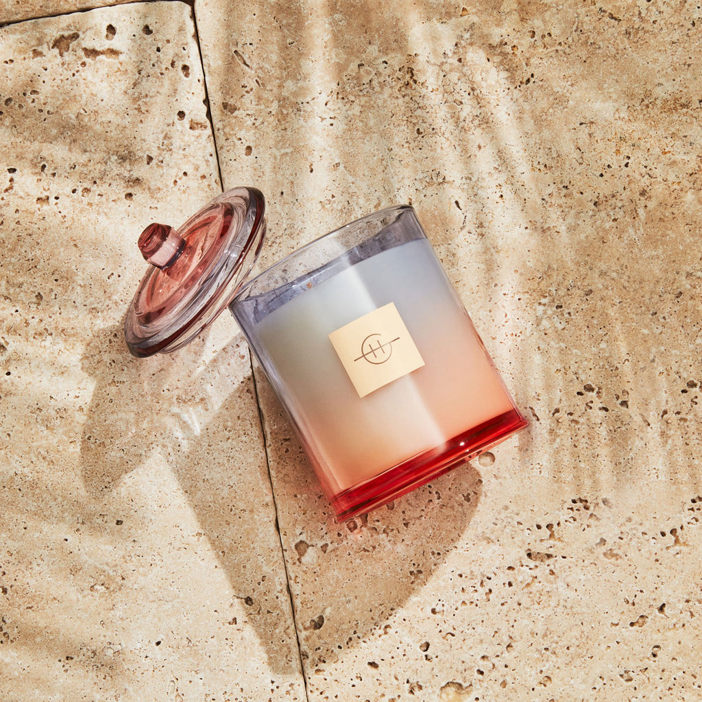 Glasshouse Fragrances 380g Sunset in Capri Candle