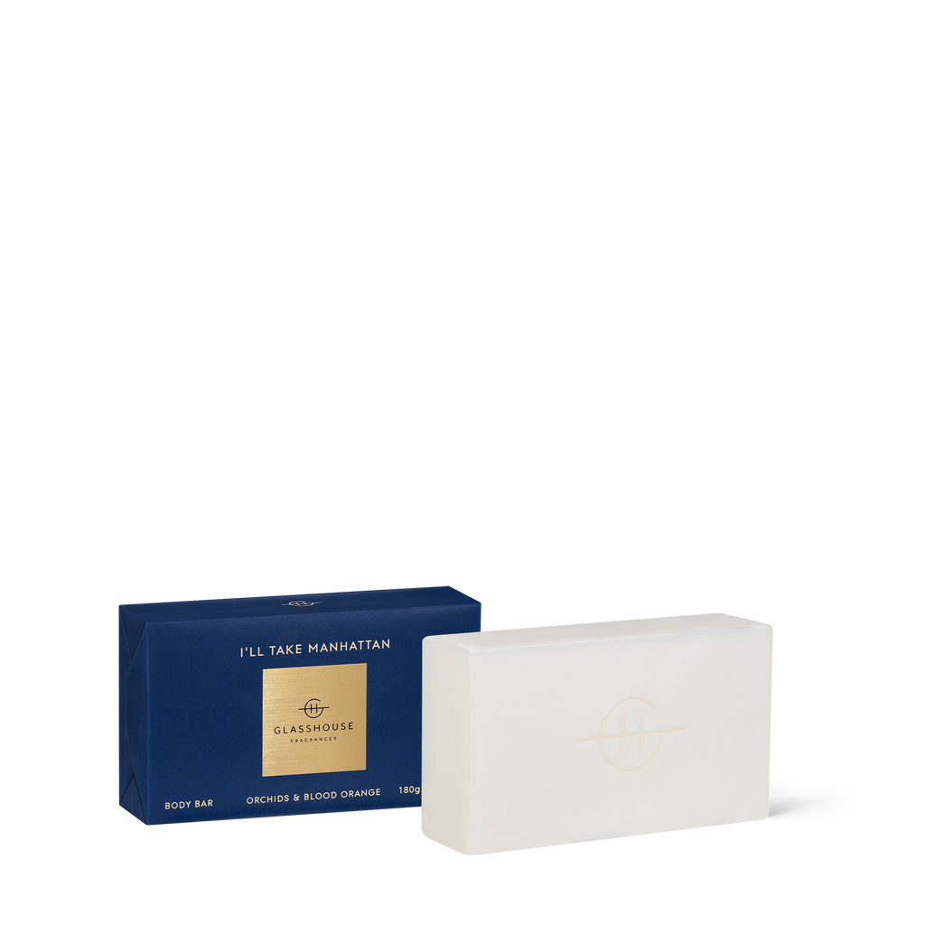 Glasshouse Fragrances 180g I'll Take Manhattan Body Bar