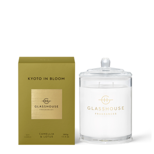 Glasshouse Fragrances 380g Kyoto in Bloom Candle