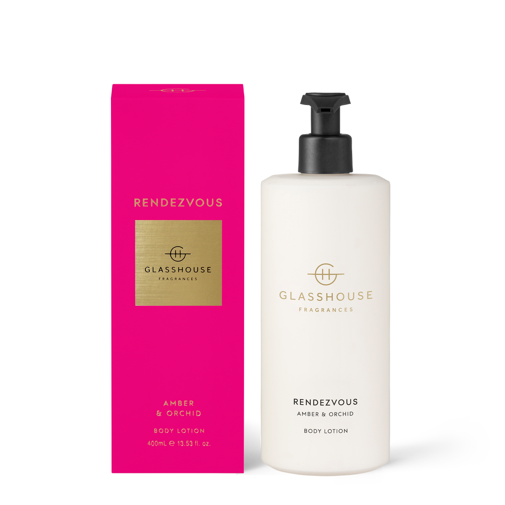 Glasshouse Fragrances 400ml Rendezvous Body Lotion