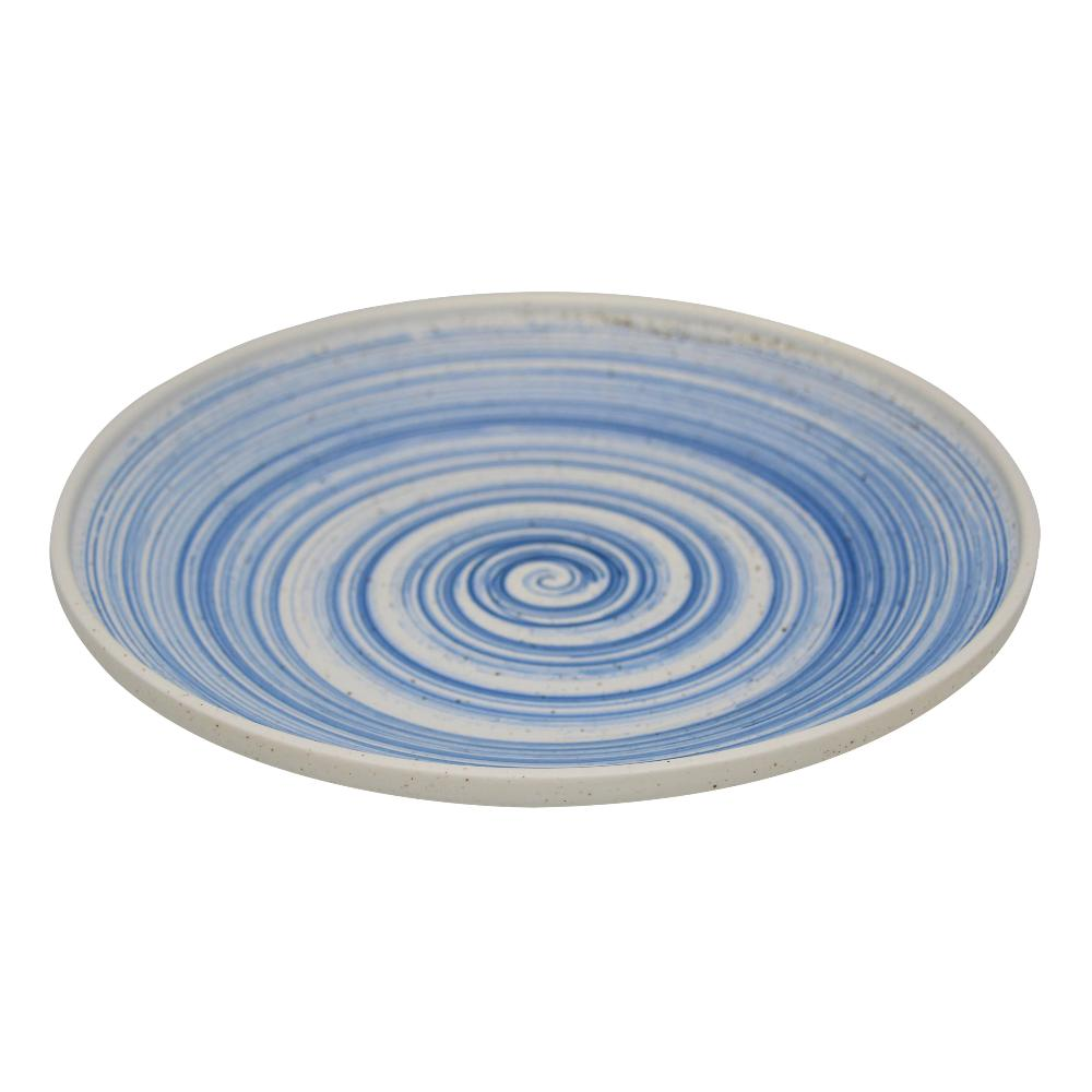 Set of 4 Valise York Plate 20cm China Blue