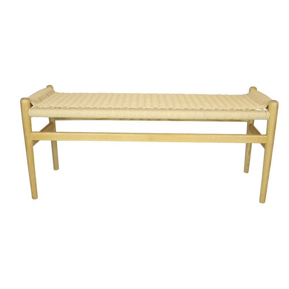 Replica Hans Wegner Wishbone Bench Natural