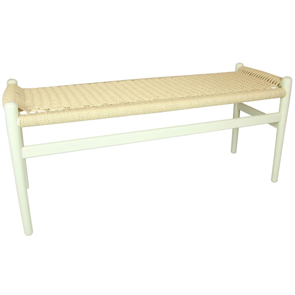 Valise Oslo Bench in Ivory White