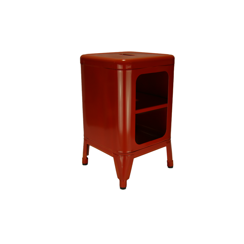 Valise Brooklyn Cabinet Small in Fire Red