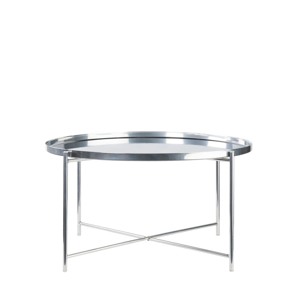 Valise Macau Coffee Table in Chrome