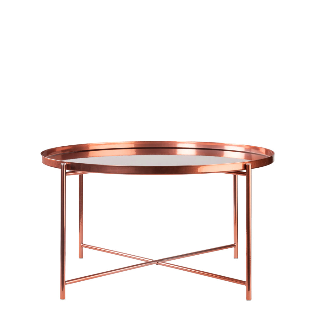 Valise Macau Coffee Table in Rose Gold