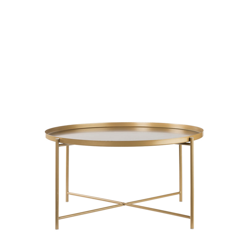 Valise Macau Coffee Table in Olive Gold