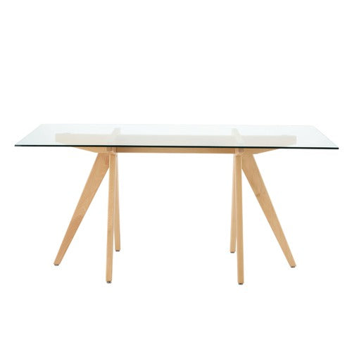 Valise Stockholm Dining Table in Natural Ash