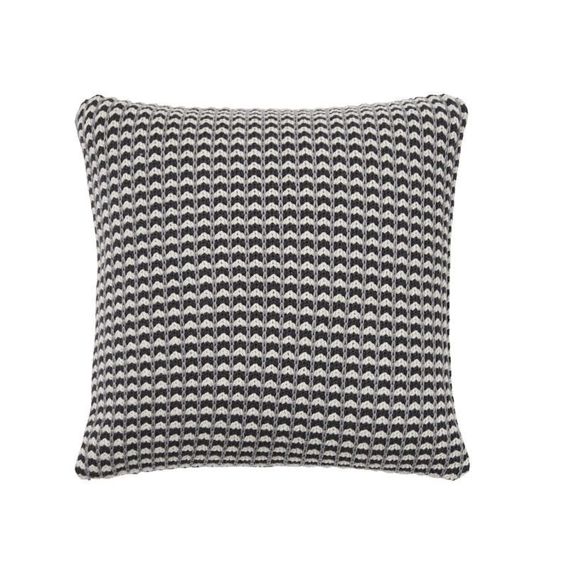 Weave Sausalito Knitted Cushion Tar