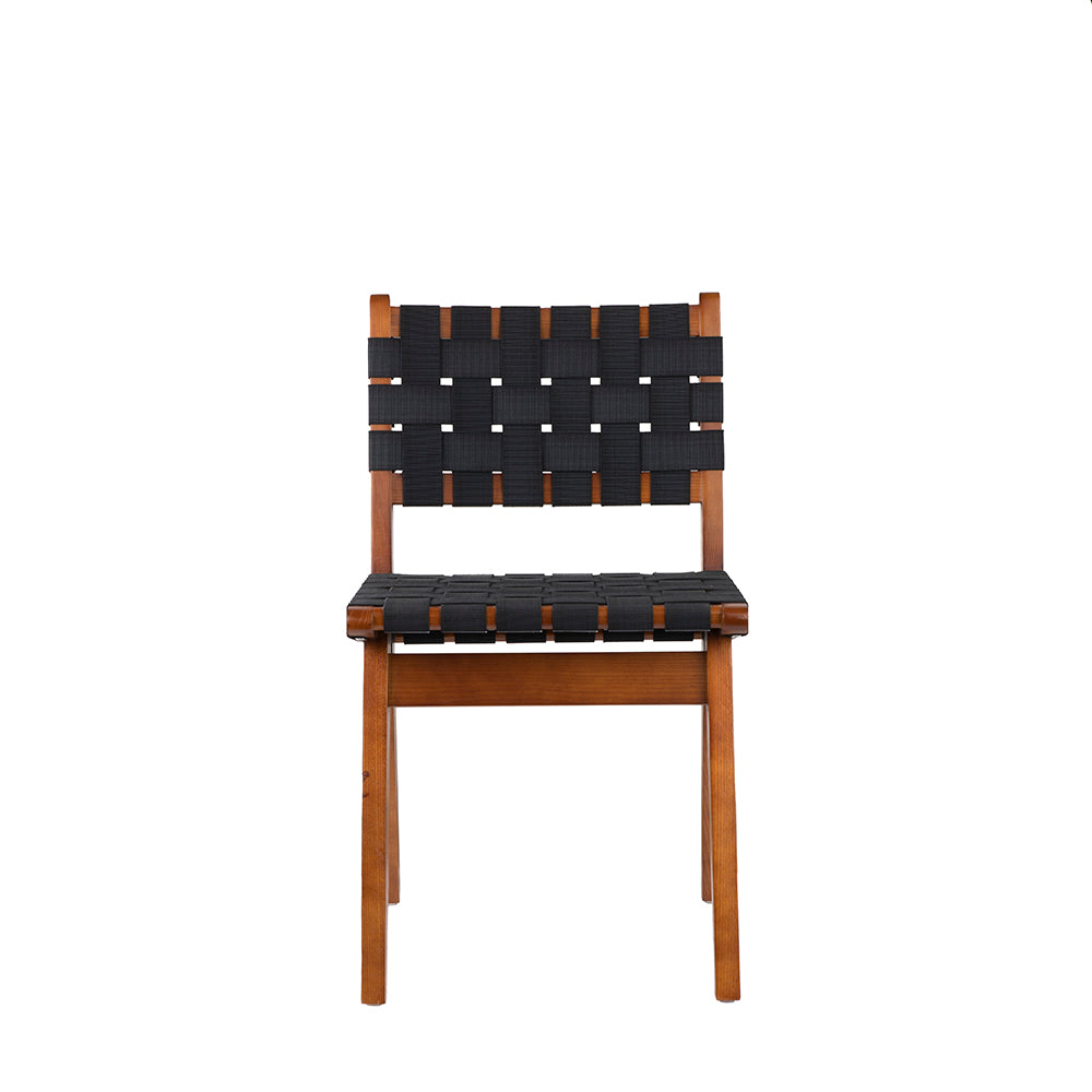 Set of 2 Valise Stockholm Chair in English Walnut