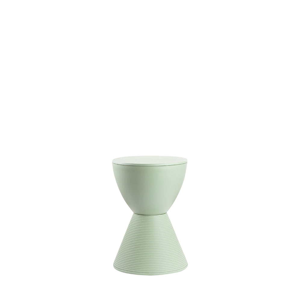 Valise Stockholm Hourglass Stool in Spearmint