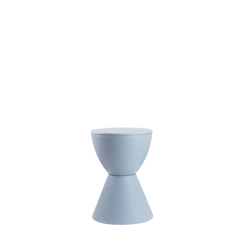 Valise Stockholm Hourglass Stool in Sky Blue