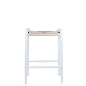 Valise Oslo Stool in Ivory White