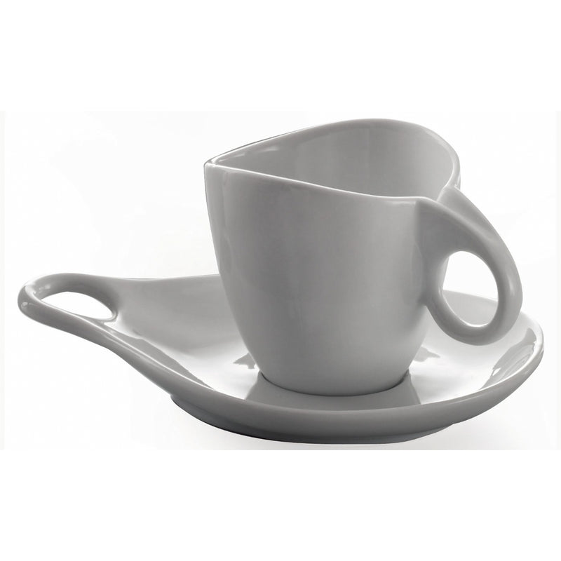 Bugatti Milla Cappuccino Cup and Saucer 6 Piece Set