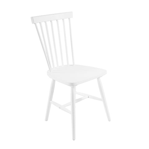 Set of 2 Replica Navy Barstool White 65CM