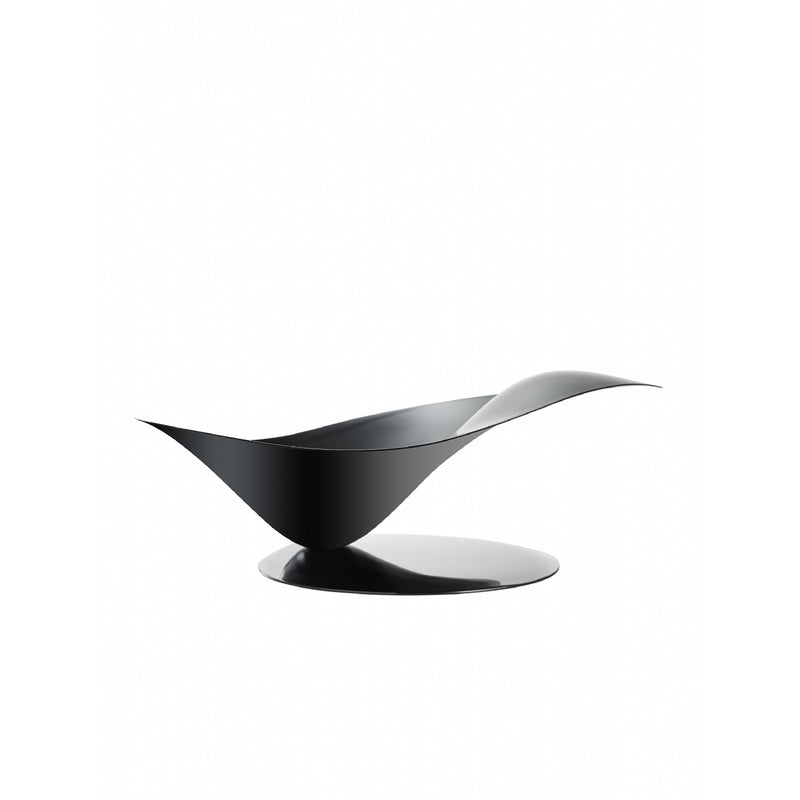 Bugatti Petalo Fruit Bowl Black