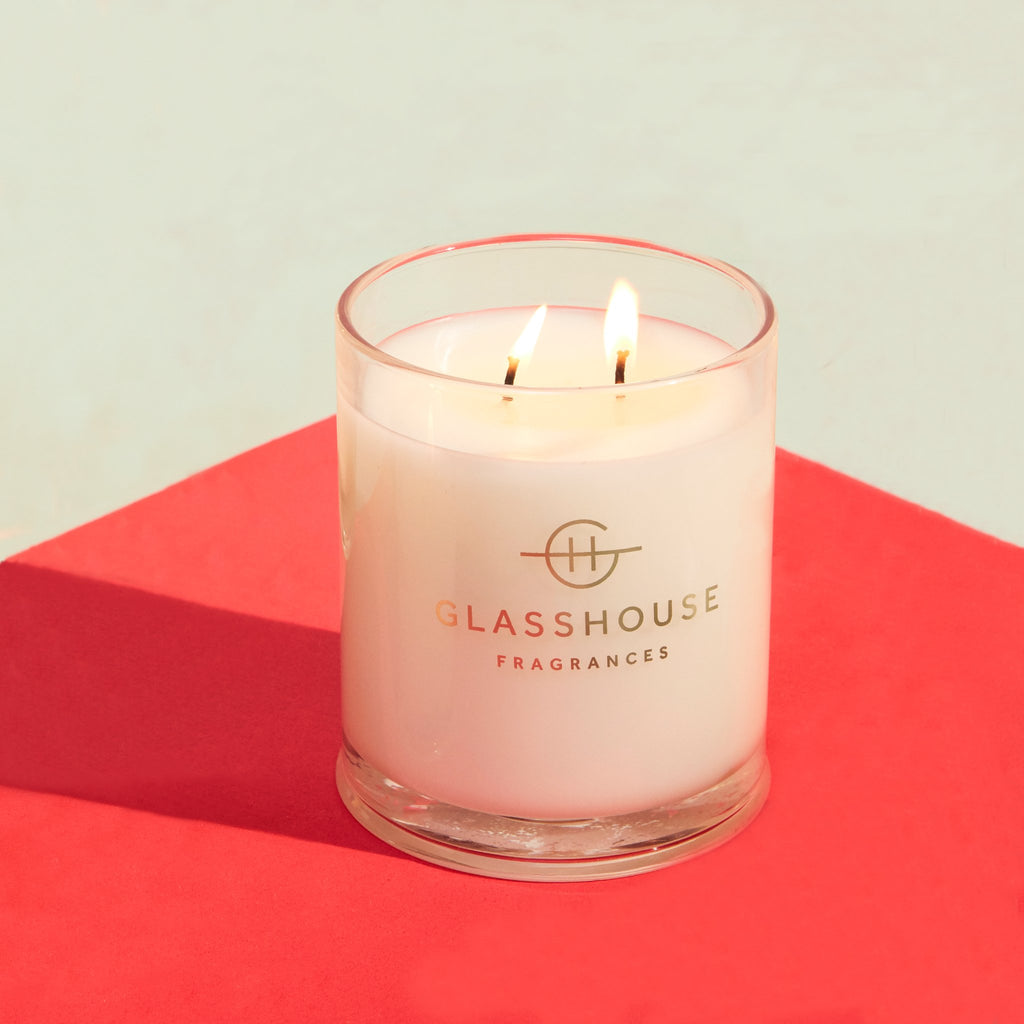 Glasshouse Fragrances 380g Rendezvous Candle