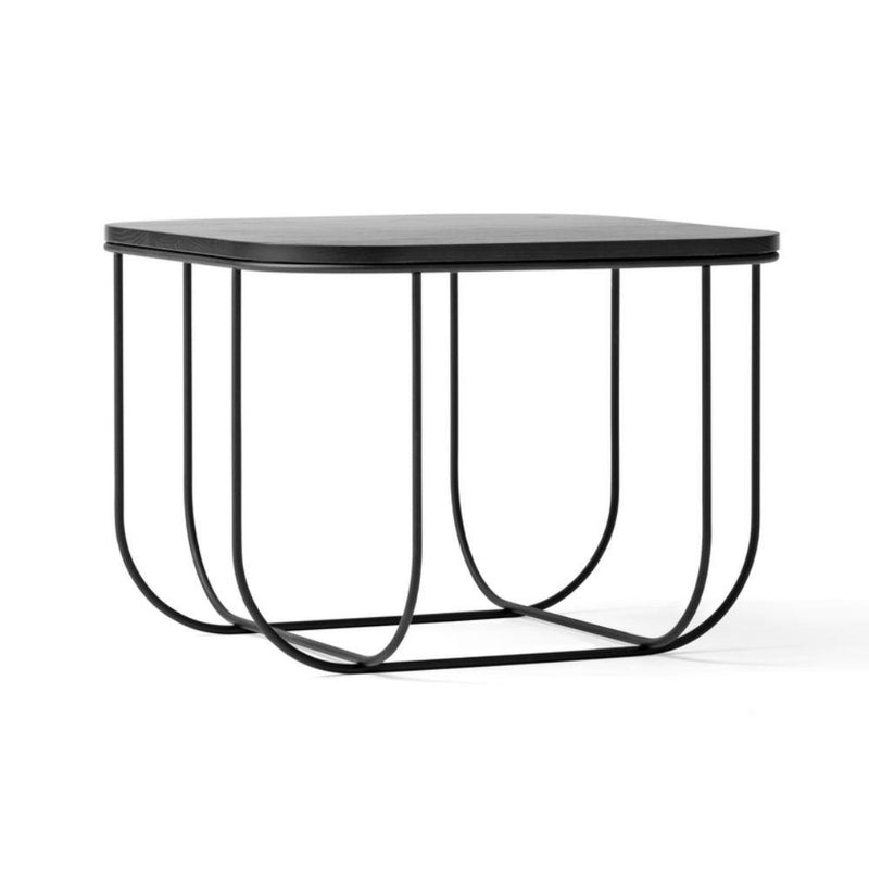 Menu Cage Table Black & Dark Ash