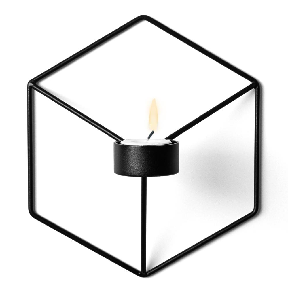 Menu POV Wall Candleholder Black