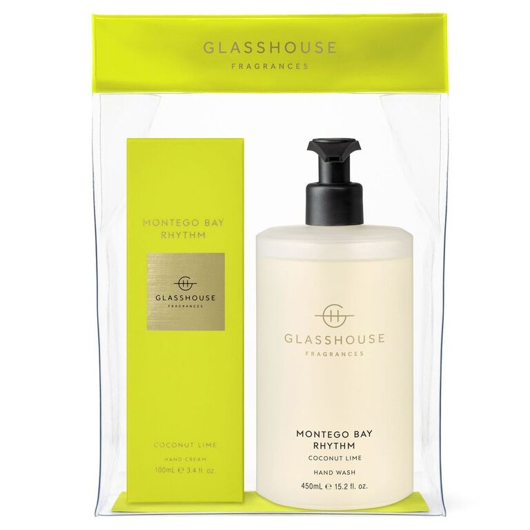 Glasshouse Fragrances 550ml Montego Bay Rhythm Hand Set