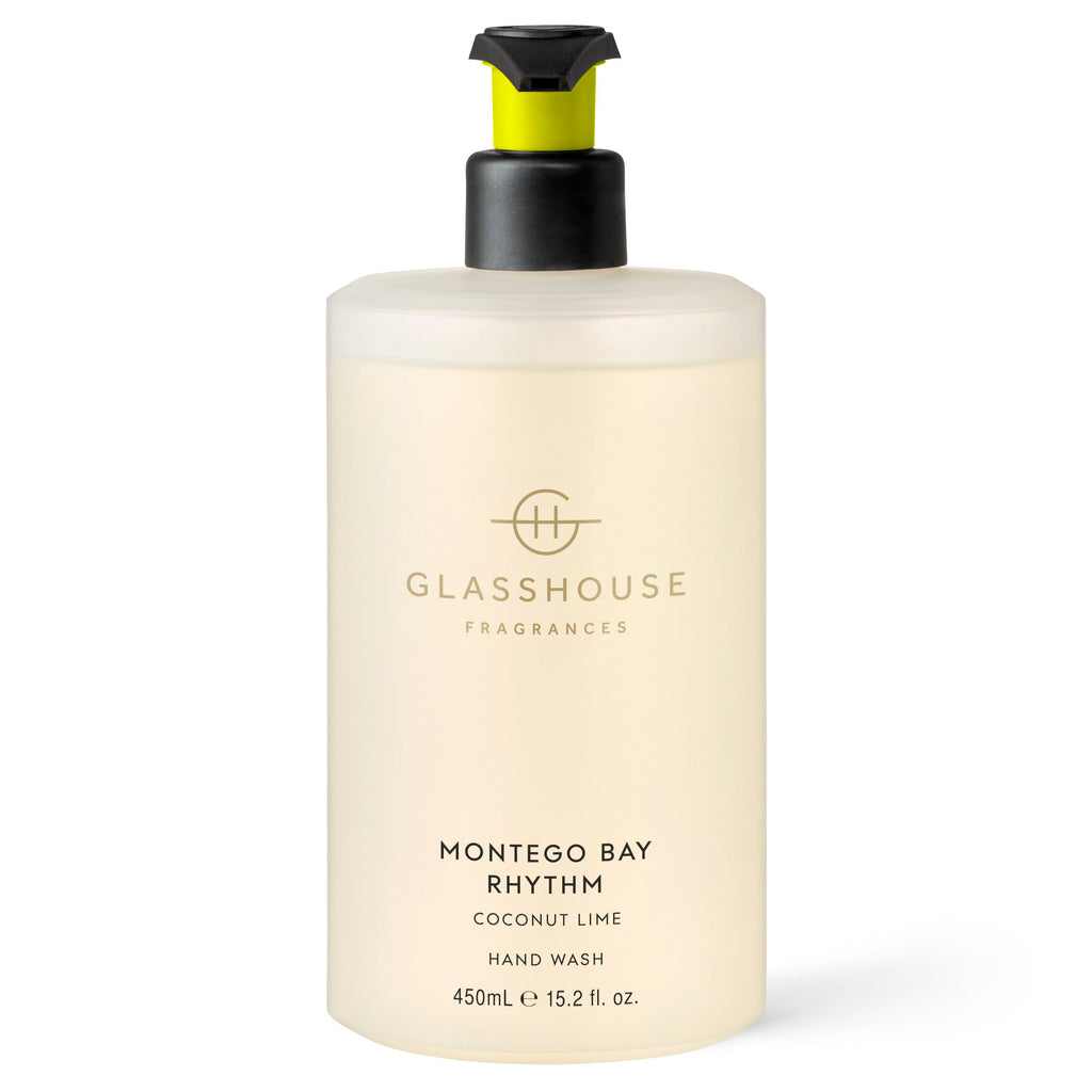 Glasshouse Fragrances 450ml Montego Bay Rhythm Hand Wash