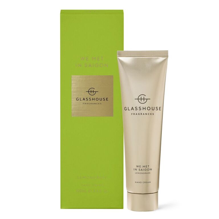 Glasshouse Fragrances 100ml We Met in Saigon Hand Cream