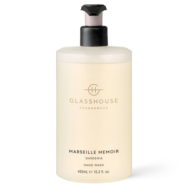 Glasshouse Fragrances 450ml Marseille Memoir Hand Wash