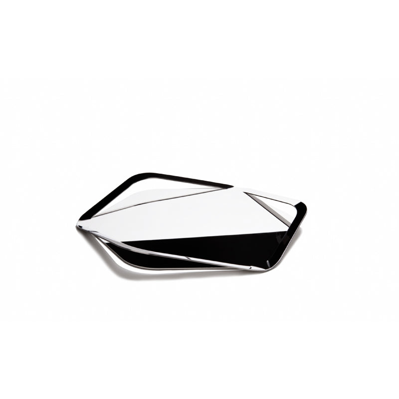 Bugatti Trattoria 3 Handle Tray Stainless Steel