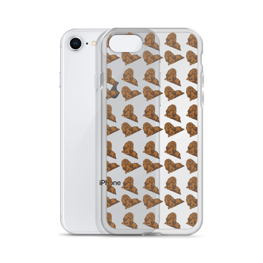 Ruby Cavalier King Charles Spaniel iPhone Case (choose your model) - Parent Of Pet