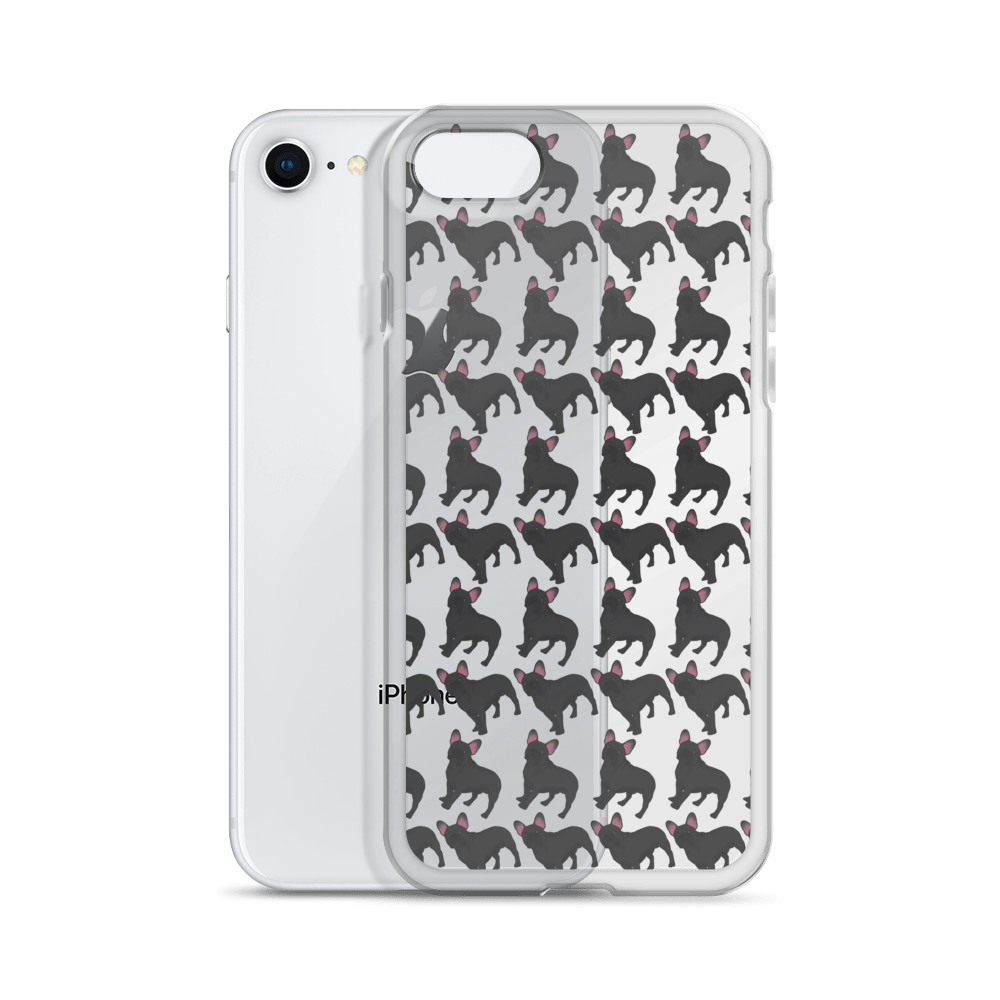 Black French Bulldog iPhone Case (choose your model) - Parent Of Pet