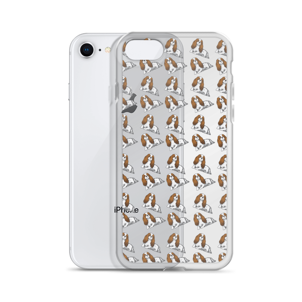Blenheim Cavalier King Charles Spaniel iPhone Case (choose your model) - Parent Of Pet
