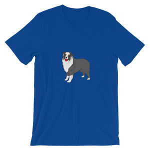 Black Tricolour Tricolor Australian Shepherd Short-Sleeve Premium Unisex T-Shirt - Parent Of Pet