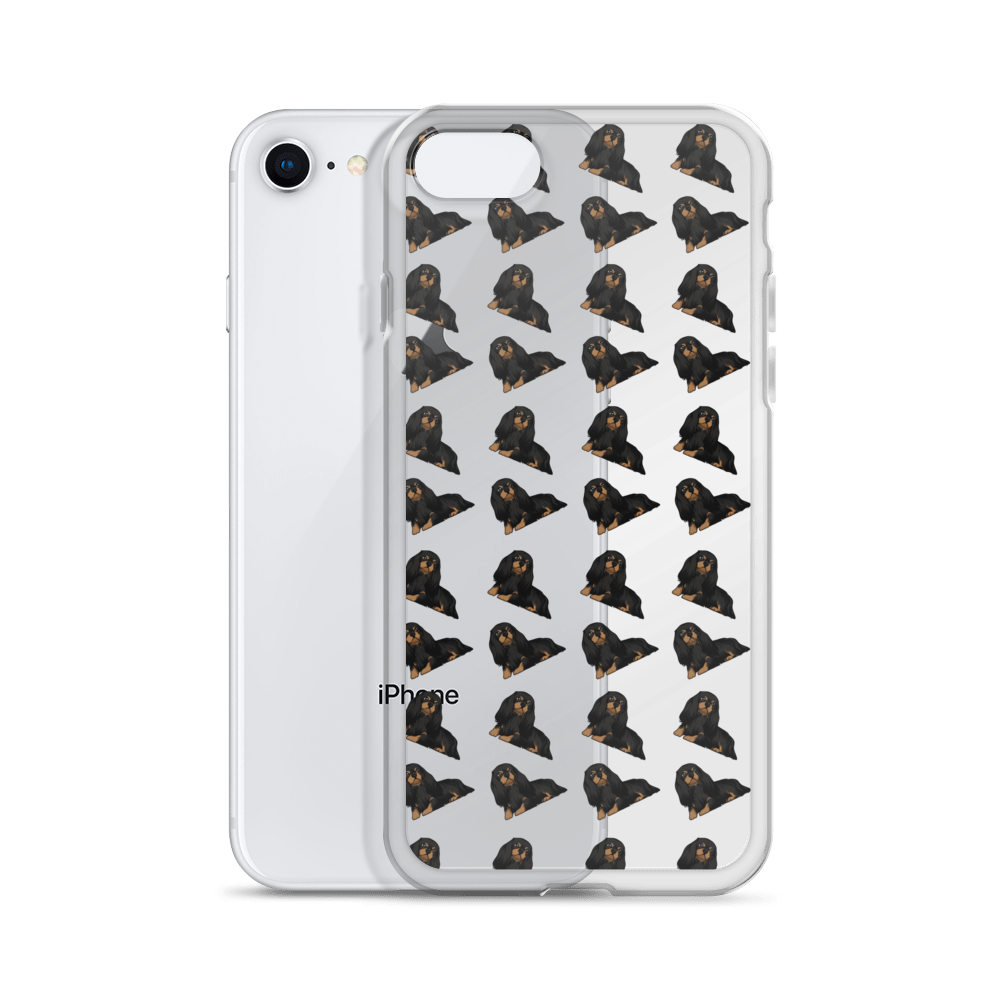 Black and Tan Cavalier King Charles Spaniel iPhone Case (choose your model) - Parent Of Pet
