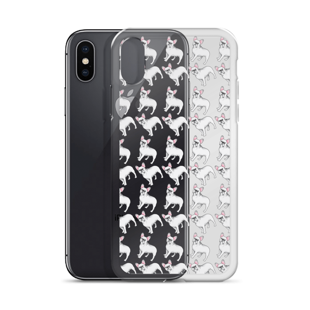 White French Bulldog iPhone Case (choose your model) - Parent Of Pet