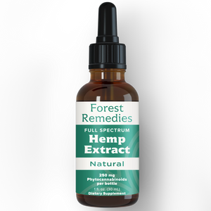 Natural Hemp Flavor Full Spectrum Hemp Extract Tincture