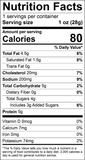 Nutrition information for Honey BBQ Snack Stick