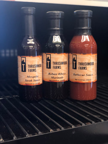 Mesquite Steak Sauce, Robust Ribeye Marinade, Barbecue Sauce